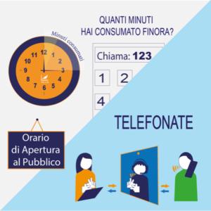 Servizio di Video Interpretariato - Orario di apertura al pubblico